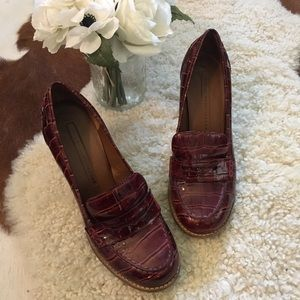 MARC BY MARC JACOBS Leather Heeled Loafer 39